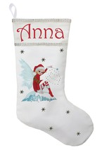 Fairy Christmas Stocking - Personalized and Hand Made Fairy Stocking - $29.99