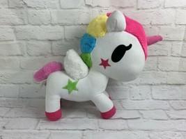 "Jumbo Neon Star Tokidoki Unicorno 15"" Plush Rainbow Mane Stuffed Animal Toy - $24.85"