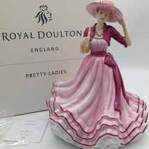 Firmato a Mano Michael Royal Doulton Kate Pretty Donna Figurina HN5527 M... - $116.45