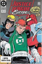 Justice League Europe Comic Book #11 DC Comics 1990 VERY FINE/NEAR MINT ... - $2.75