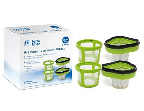 Fette Filter - Vacuum Filter Compatible with Bissell Pet Hair Eraser Hand Vac. C