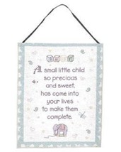 """Simply Home PRECIOUS CHILD"""" WALL HANGING TAPESTRY 12"""" x 18 - $11.62"""