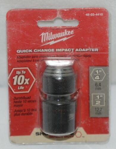 Milwaukee 48034410 Quick Change Impact Adapter One Quarter Half Inch