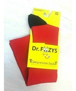 Foozys Women's & Men's RED Compression Socks, One Size Fits Most, 1 Pair - $11.69