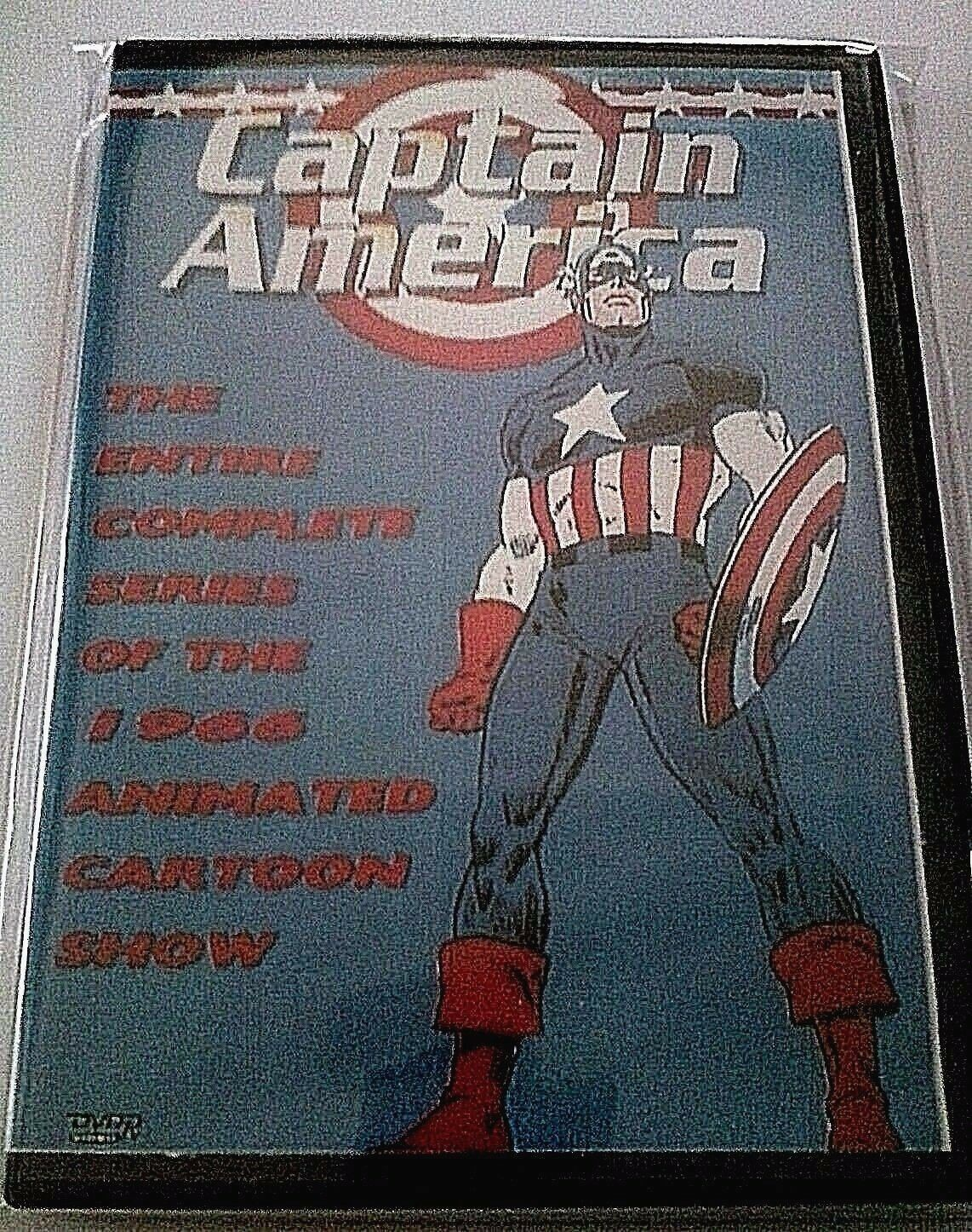 Primary image for Captain America 1966 Complete Animated Series DVD Free USA Shipping