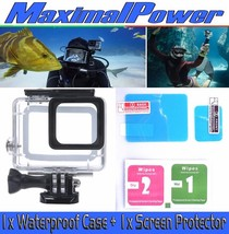 Maximal Power Gopro HERO 5 Waterproof 150ft Clear Case + Free Screen Pro... - $19.80
