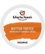 Gloria Jean's Butter Toffee Coffee, 24 count Keurig K cups, FREE SHIPPING  - $19.99