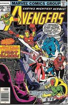 The Avengers Comic Book #168, Marvel Comics Group 1978 VERY FINE+ - $19.27