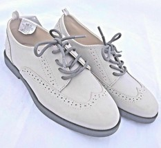 Gymboree Dress Shoes Wing Tip 8 Boys New 2017 Brunch Dressed Up Beige Br... - $21.67