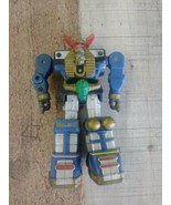 "MMPR Power Rangers 5"" Zeo Megazord action feature zord figure 1996 Bandai  - $13.37"