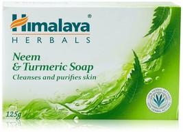 5 X Himalaya Neem & Turmeric Soap 125Gm Each - $24.84