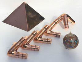 Giza Copper Meditation Pyramid connector L and 50 similar items