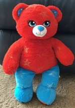 "Build A Bear 16"" Plush DC Comics Red & Blue Wonder Woman Bear EUC - $15.00"