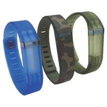 Voguestrap Unisex 1800-1003S 3-Pack Strap Compatible with Fitbit Flex - $23.62