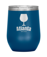 Atlanta Home Brewed Vacuum Insulated Stainless Steel Wine Tumbler Powder... - $29.99