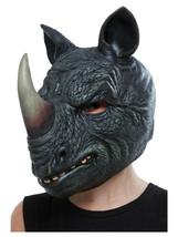 Adult Mens Ladies Novelty Funny Rhino Stag Hen Night Fancy Dress Animal Mask - $38.56
