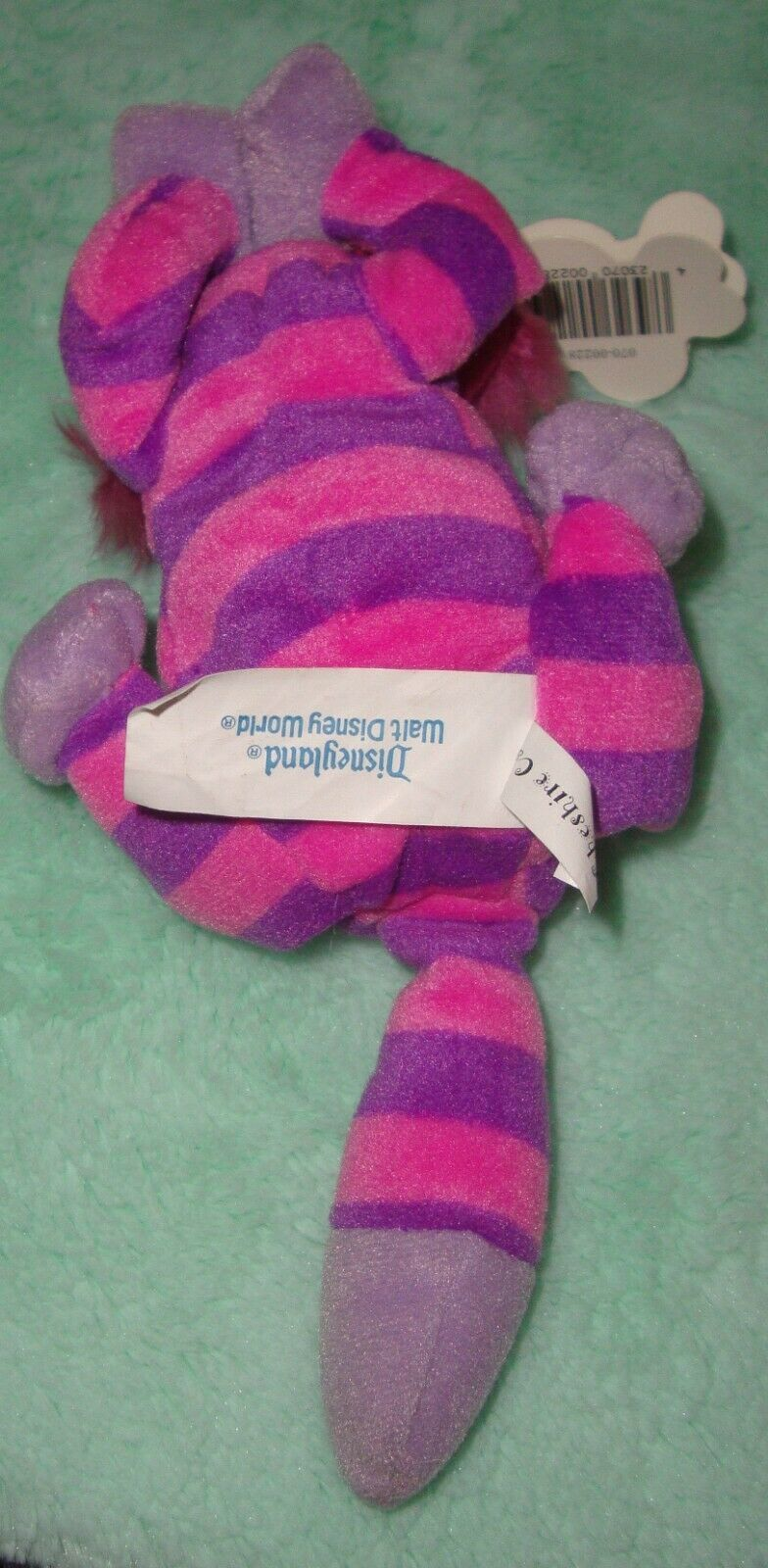 New DisneyLand Mouse Toys Cheshire Cat Alice in Wonderland Bean Bag Plush