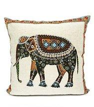 Fennco Styles Woven Elephant Decorative Throw Pillow (Case+Insert) - $24.74