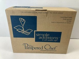 The Pampered Chef Small Bowl Caddy Porta Tazones #1944 - $14.80