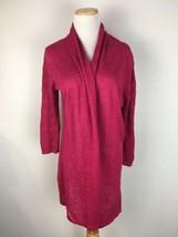 Anthropologie Yellow Bird Women's PInk Open Front Cardigan Sweater Size ... - $15.83