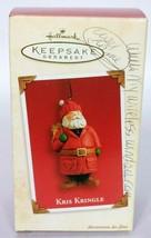 Hallmark Keepsake Christmas Ornament Kris Kringle 2003 - $14.85