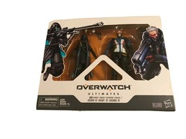 Overwatch Ultimates ANA / SOLDIER:76 Action Figures - Hasbro / Blizzard New - $19.79
