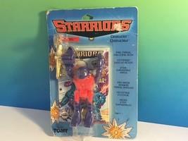 STARRIORS ACTION FIGURE ROBOT 1984 TOMY MOC WASTORS DESTRUCTOR SLICE DOU... - $84.15