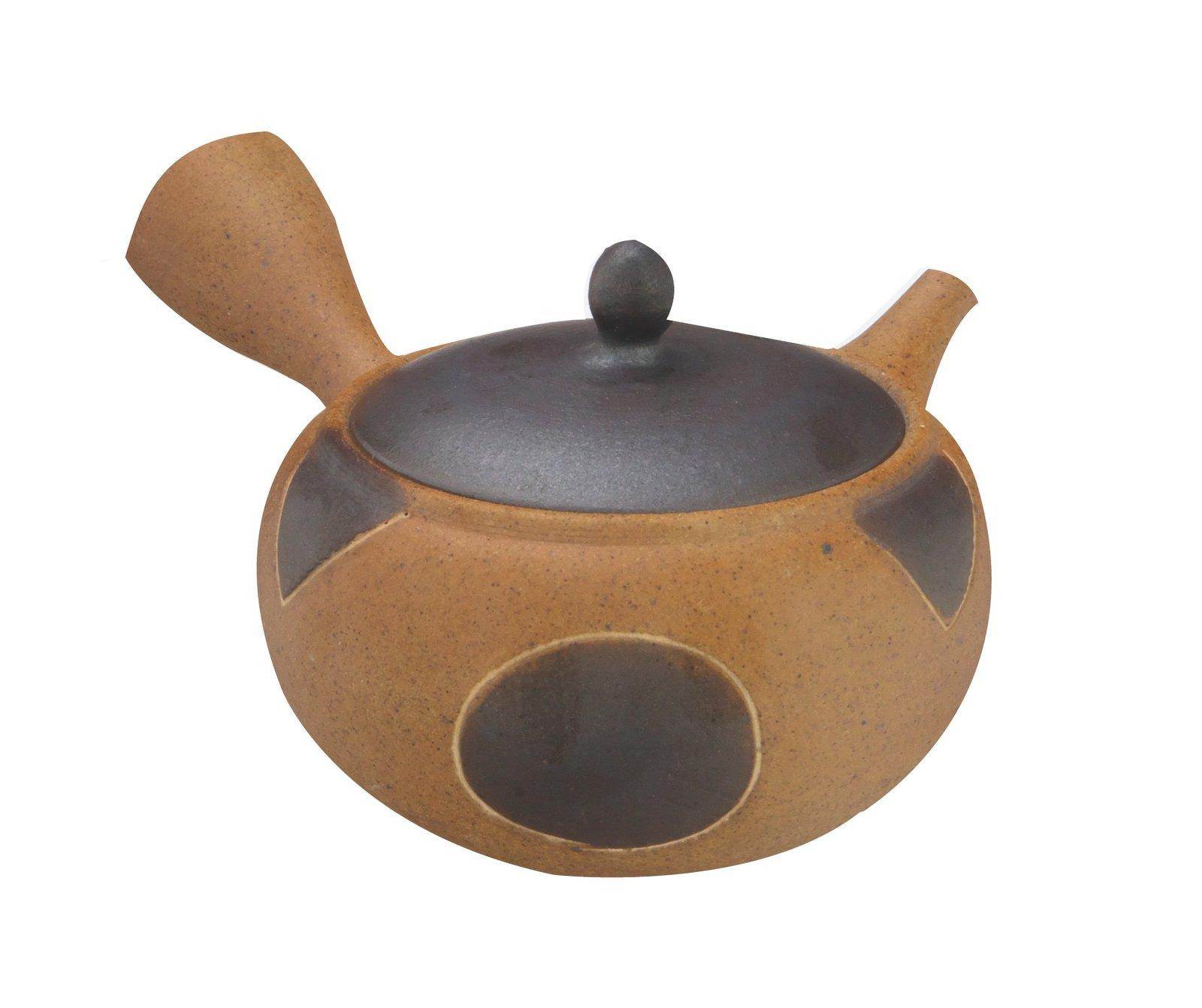 TOKYO MATCHA SELECTION - Tokoname Pottery ISSHIN Japanese Kyusu Pot 400cc wit... - $65.33