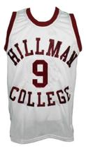 A Different World Dwayne Wayne Hillman College Basketball Jersey White Any Size image 4