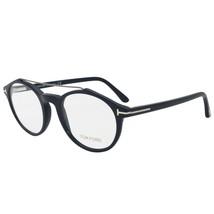 Tom Ford Eyewear FT5455 090 48 Round  Blue Eyeglass Frames - $138.59