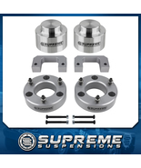 """3.5"""" Front + 2"""" Rear Lift Kit PRO-Billet Silver For 07- 14 Cadillac Esca... - $189.95"""