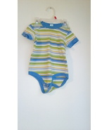 boys kids play striped onsie size12 months sec1004 - $9.90