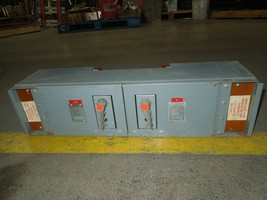 FPE QMQB1136 100/100A 3p 600V Twin Fusible Switch Unit Used - $800.00