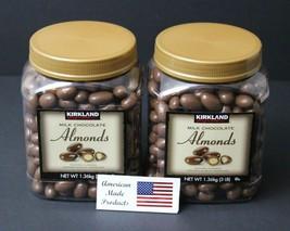 2 jars of Kirkland Signature Milk Chocolate Roasted Almonds 3lbs = 48 Ounce - $40.19