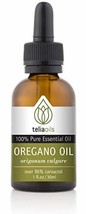Teliaoils 100% Organic Oil Of Oregano - Super Strength over 86% Carvacro... - $22.90