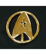 Star Trek Classic Movies Uniform Gold Tone Metal Belt Buckle, NEW UNUSED - $15.44