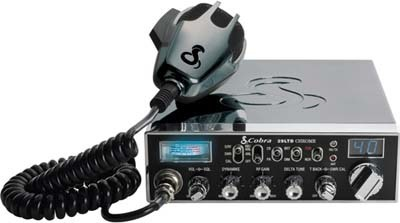Cobra 29ltd Chrome 40 Channels AM CB Radio