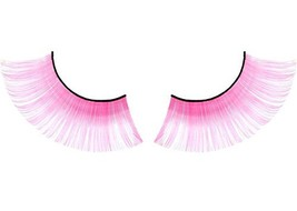 3 Pairs Cute Pink False Eyelashes Party False Eyelashes Art Eyelashes image 2