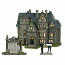 Department 56 Wayne Manor Hot Properties Village Set of 3 Batman 6002318 - $167.25