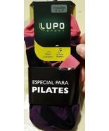 NWT Lupo Yoga Pilates Slipper Gripper Sock Size 34-37, Womens 5-7 Lot of 4 - $14.26