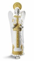 Lladro Retired 01008794 ROMANESQUE ANGEL (White-Golden) 8794 Brand New - $604.75