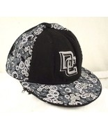 New Era 5950 Washington Nationals DC Black White Baseball Cap Sz 8 Distr... - $12.99