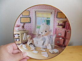 1994 Precious Moments Praise The Lord Anyhow Collector's Plate - $25.00