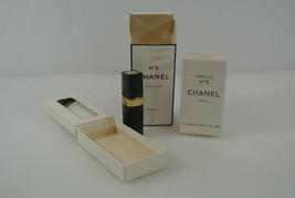 Chanel No. 5 Flacon Pour le Sac SEALED + 7g Parfum Spray 60% Full Vtg France - $193.32