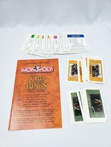 Lord of the Rings Monopoly Trilogy Replacement Property Events People Manual - $8.90