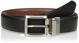 Tommy Hilfiger Men's Dress Reversible Belt, Black/Brown, 36