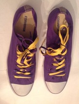 Converse Chuck Taylor All Star Lo Electric Purple Womens 15 Men 13 Sneak... - $48.94 CAD