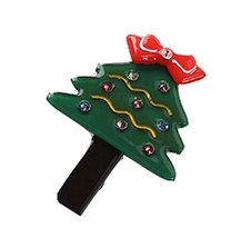 5 Pieces Christmas Lovely Cartoon Hair Clips Cute Hair Claw For Girls, 4.53.5cm
