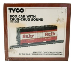 Tyco Box Car with CHUG-CHUG Sound HO New, Old Stock, T-902