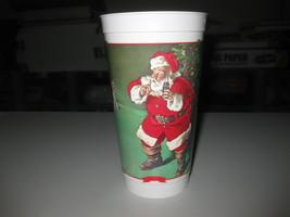 1980s Vintage Froze Coca-Cola Christmas Santa Claus Season's Greetings Cup - $19.79